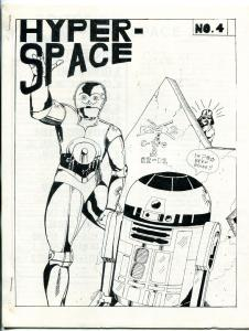 Hyper Space #4 1978-  Early Star Wars Fanzine Fan Fiction VF