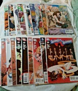 WONDER WOMAN #5 17-19 21-24 27 30-38 40 DC Comics 2008 Lot of 19 VF NM