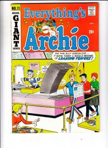 Everything's Archie #11 (Dec-70) FN/VF Mid-High-Grade Archie, Betty, Veronica...