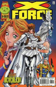 X-Force #61 VF/NM; Marvel   save on shipping - details inside