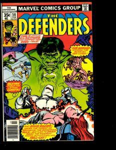 Lot of 11 Defenders Marvel Comic Books 40 44 48 49 53 56 57 92 98 101 129 JF10