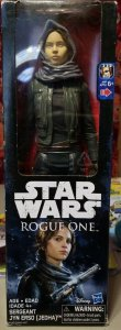 Star Wars Rogue One 12-Inch Sergeant Jyn Erso Jedha Figure