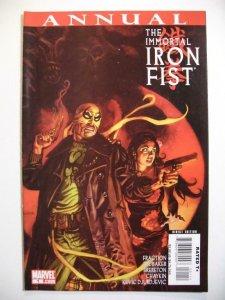 IRON FIST #1 Annual, VF/NM,  Marvel, Kung-Fu, Martial Arts, 2007, Immortal