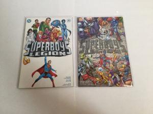Superboy Legion 1 2 NM Near Mint