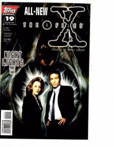 7 X-Files Topps Comic Books # 19 20 21 22 23 25 + Annual # 1 TV Show J206
