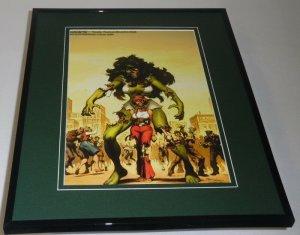 She Hulk Marvel Zombies #20 Framed 11x14 Poster Display