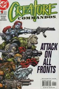 Creature Commandos #1 VF/NM; DC | save on shipping - details inside