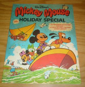 Walt Disney's Mickey Mouse Holiday Special 1978 FN w/1934 comic strip - import