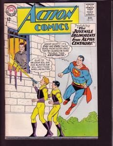 ACTION COMICS #315 1964-SUPERMAN-DC COMICS SUPERGIRL G/VG