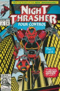 NIGHT THRASHER FOUR CONTROL (1992) 1-4 complete series!