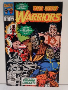 The New Warriors #21 (1990)