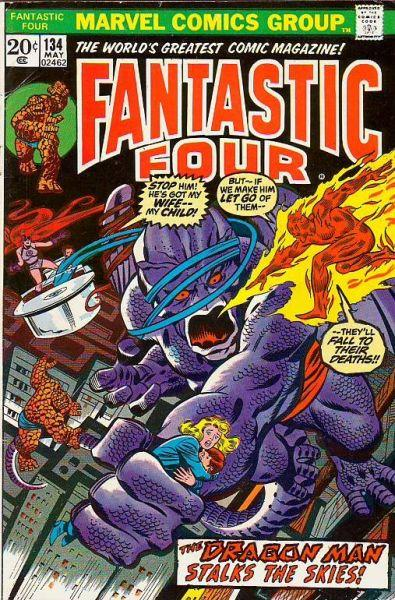 Fantastic Four #134 (May-73) VF High-Grade Fantastic Four, Mr. Fantastic (Ree...