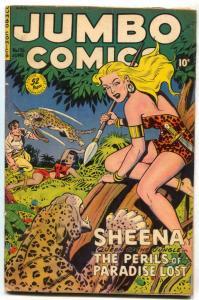 Jumbo Comics #136 1950- SHEENA- Good girl art VG
