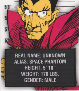 2015 Avengers Silver Age Trading Cards-Classic Villains #CV2 Space Phantom