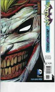 BATMAN  #13 (2012 DC) DEATH IN THE FAMILY  NEAR MINT FIRST PRINT DC NEW 52.