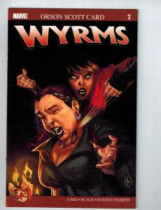 Wyrms # 2 Dabel Brothers Personal Collection Marvel Comic Book Orson Scott Card