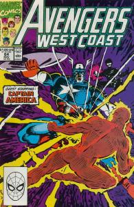 Avengers West Coast #64 FN; Marvel | save on shipping - details inside