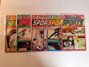 Strange Sports Stories 1-6 VG/FN Missing # 1 Lot Set Run
