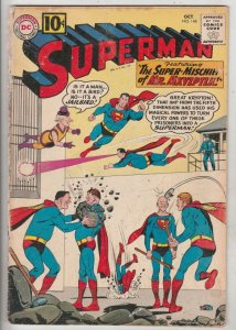 Superman #148 (Oct-61) VG- Affordable-Grade Superman, Jimmy Olsen,Lois Lane, ...