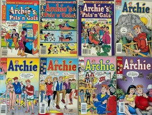 Modern archie comic lot 23 difference