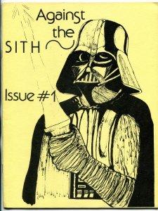 Against the Sith #1 1978- Star Wars Fanzine Fan Fiction VF-