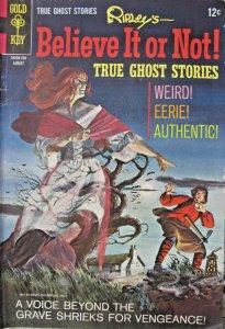 Ripley Believe It Or Not True Ghost Stories #6 1967 Gold Key Silver Age VG+ 5.0