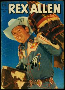 Rex Allen Comics #5 1952- Dell Western- Photo cover VG-