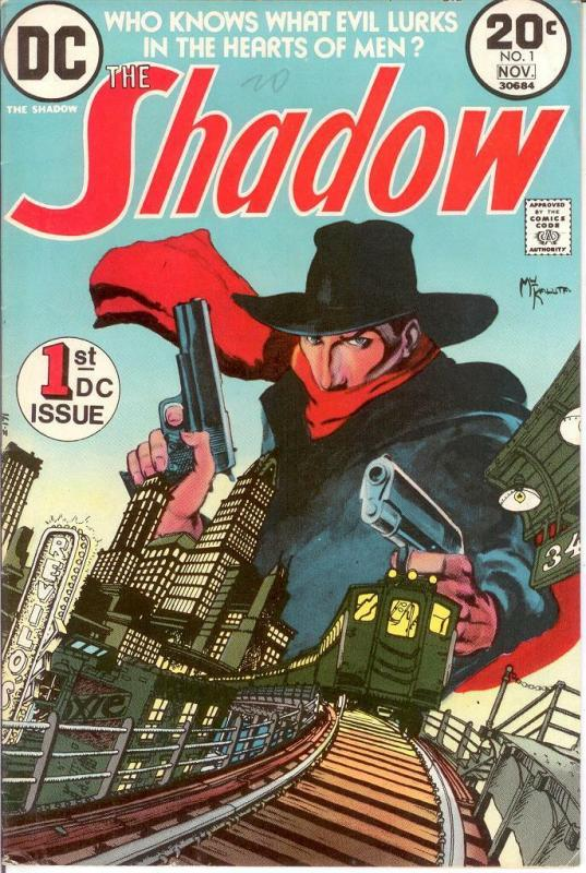 SHADOW (1973) 1 F- (KALUTA ) Nov. 1973 COMICS BOOK