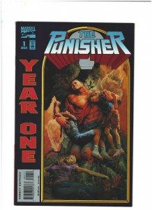 Punisher Year One #1 VF/NM 9.0 Marvel Comics 1994