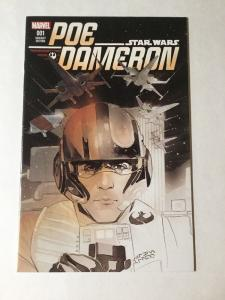 Poe Dameron 1 Variant Edition Star Wars Nm Near Mint