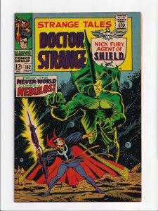 Strange Tales #162 Doctor Strange Marvel Comics 1967 FN+ 6.5