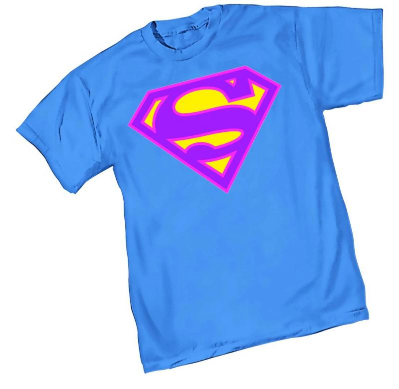NEO SUPERMAN SYMBOL T-SHIRT 2X-LARGE GRAPHITTI DESIGNS NEW