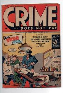 CRIME DOES NOT PAY 41, VG/F (5.0), 1942 LEV GLEESON, 1ST OFFICER COMMON SENSE