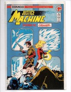 Comico Comics (1986) Justice Machine Featuring The Elementals #4