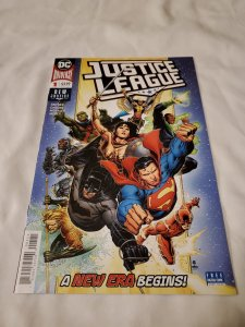 Justice League 1 Near Mint- Cover by Jim Cheung