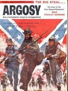 ARGOSY 1956 NOV-CIVIL WAR ISSUE-ERLE S. GARD. FN