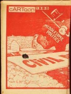 CARTOON 1980-C.C. BECK/CAPTAIN MARVEL-GEORGE CARLSON VG