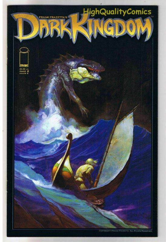 Frank Frazetta : DARK KINGDOM #2, Tim Vigil, 2008, NM, Mark Kidwell, sailing