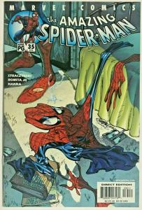 AMAZING SPIDER-MAN#35 VF/NM 2001 J SCOTT CAMPBELL COVER MARVEL COMICS