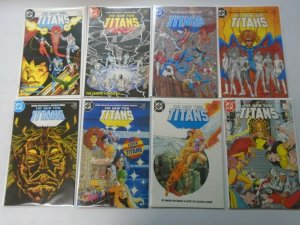 New Teen Titans comic lot 29 different from #1-30 8.5 VF+ (1984-87 2nd Series)