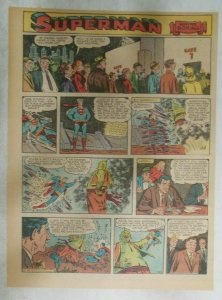Superman Sunday Page #922 by Wayne Boring from 6/30/1957 Size ~11 x 15 inches