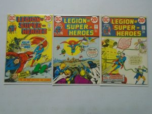 Legion of Super-Heroes #1-3 6.0 FN (1973 1st Series)
