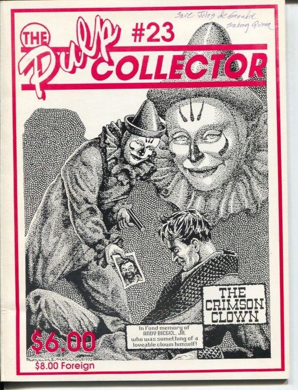 Pulp Collector #23 1993-Crimson Clown-Black Aces-Len Siringo-Moon Man-FN+
