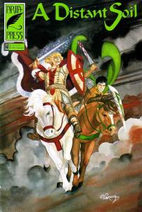Distant Soil, A (2nd Series) #6 VF/NM; Aria   save on shipping - details inside
