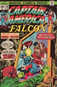 Captain America (1st Series) #186 FN; Marvel | save on shipping - details inside