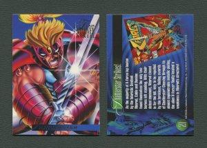 1995 Flair Marvel Annual Card #21 (Shatterstar)  MINT