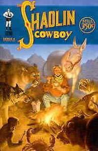 Shaolin Cowboy #4B VF/NM; Burlyman   save on shipping - details inside