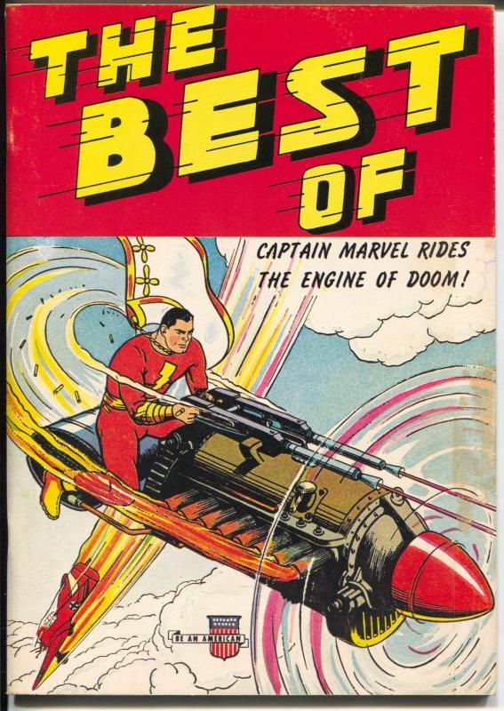 Best of Captain Marvel #1 1975-1st issue-reprints 40's Capt Marvel stories-VG/FN