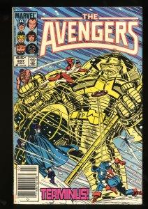 Avengers #257  1st Nebula! Marvel Comics Thor Captain America