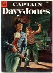 Captain Davy Jones- Four Color Comics #598 1954 VG+